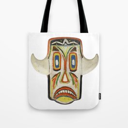 Grinning mask Tote Bag