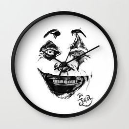 Put on a happy face Wall Clock
