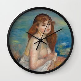 Little Bather Wall Clock