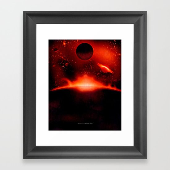2012 V3 Framed Art Print