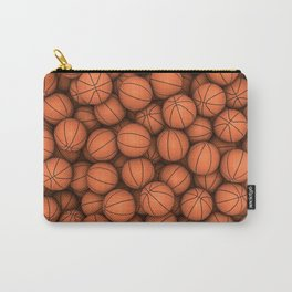Basketballs Carry-All Pouch