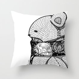 forever - b side Throw Pillow