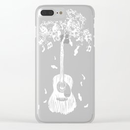 Sounds of Nature Clear iPhone Case