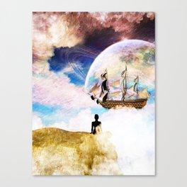 The World Behind my World Canvas Print