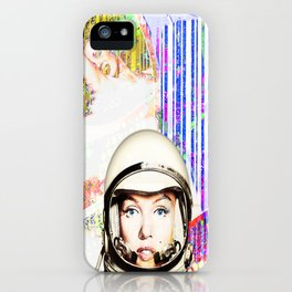 astronaut norma jeane iPhone Case