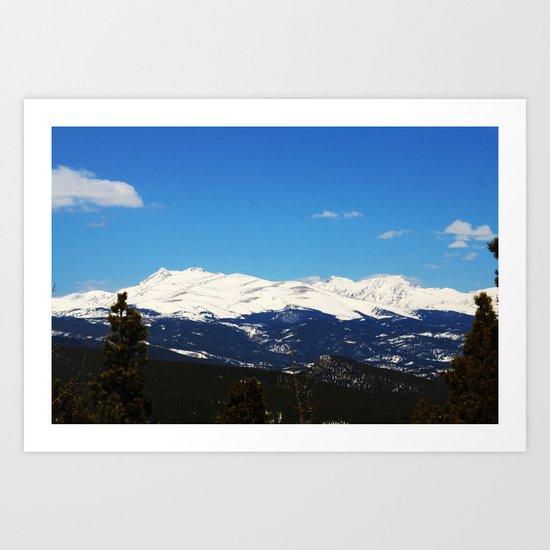 Golden Canyon State Park Art Print