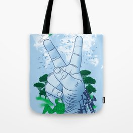 Peace is the Answer Tote Bag