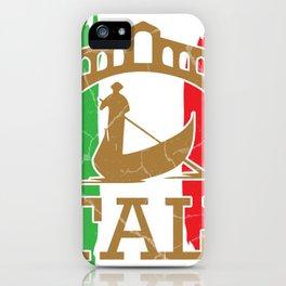 Italy Rome Milan gift Italian iPhone Case