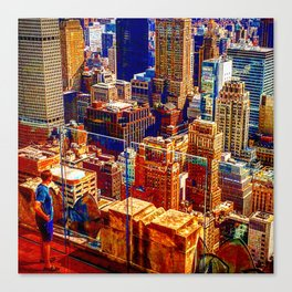 Tommy's Town Canvas Print