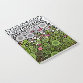 FLORAL DOTS Notebook