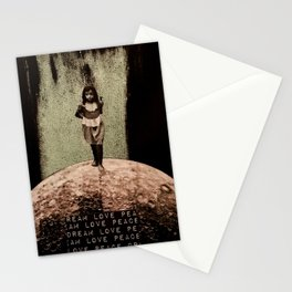 Safe Spaces - Taking Refuge in the Matrix of Love, Peace, and Dreams Stationery Cards