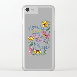 Let Us Dance II Clear iPhone Case