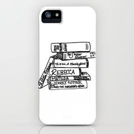 Favorite Books iPhone Case