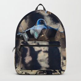F-35 in Death Valley Backpack