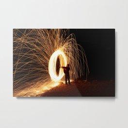 Painting Light Metal Print