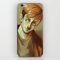 kieren walker iPhone & iPod Skins featuring In the Flesh - Kieren Walker by SandraG.N.