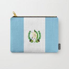 Flag of Guatemala- Guatemalan, Mixco,Villa Nueva,Petapa,tropical,central america,spanish,latine Carry-All Pouch