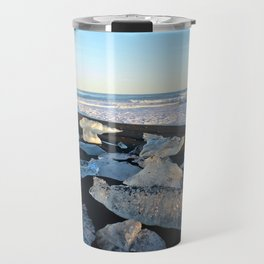 Jokulsarlon Beach III, Iceland Travel Mug