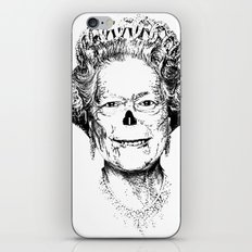 The Warming Dead! The Queen. iPhone & iPod Skin
