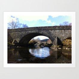 Scottish Highlands: Passageway  Art Print