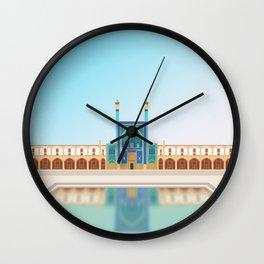 Isfahan, Iran Wall Clock