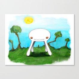 The Odd Canvas Print