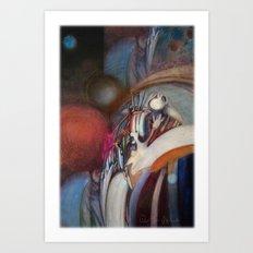 Zero Point Field VII Art Print