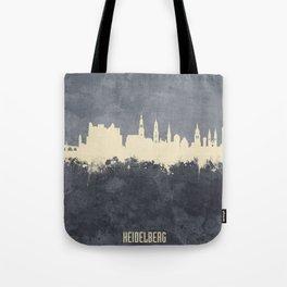Heidelberg Germany Skyline Tote Bag