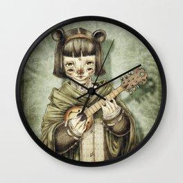 Girl II Wall Clock