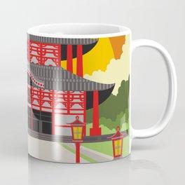 asian chinese temple Coffee Mug