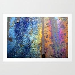 (t)Rainbow Art Print
