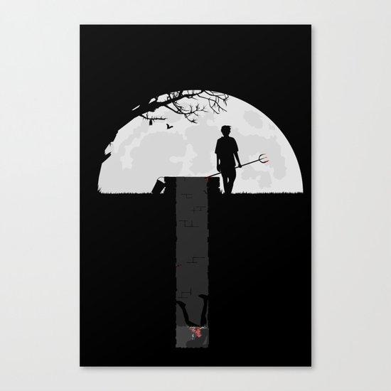 Dumped Canvas Print