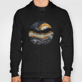 Metallic Mountains Hoody