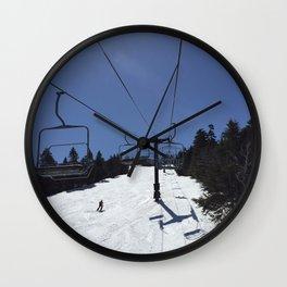 Chairlift Killington Wall Clock