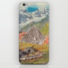 Between the mountains iPhone Skin