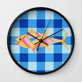 FISH STRIPES Wall Clock