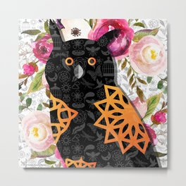 Flights of Fancy Too-Owl Metal Print