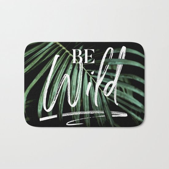 Be wild Bath Mat