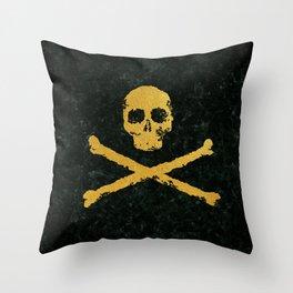 Gold Revolution Throw Pillow