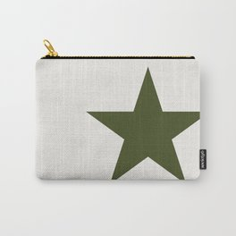 Vintage U.S. Military Star Carry-All Pouch