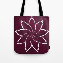Zen Floral Mandala Tote Bag