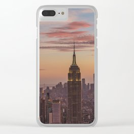 Top of The Rock I Clear iPhone Case