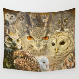OWL you need is LOVE Wall Tapestry