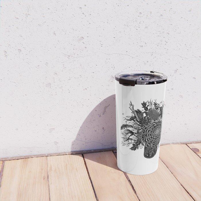 Field Arrangement Travel Mug