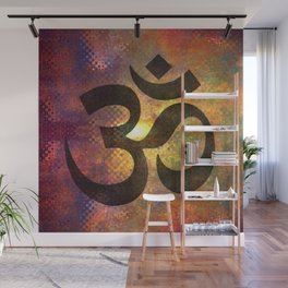 Power of Om Wall Mural