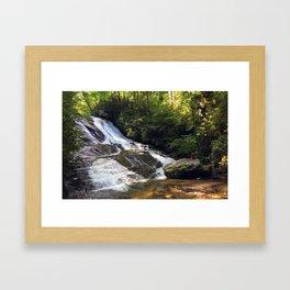 Cathy Creek Falls Framed Art Print