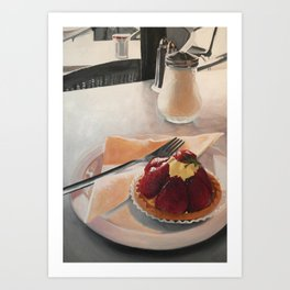 The Tart Art Print