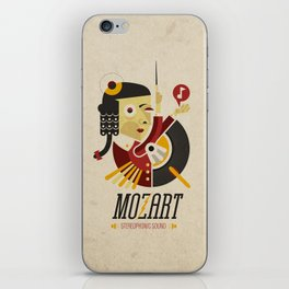 Mozart - Stereophonic Sound   iPhone Skin