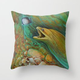 Naive Butterfly Throw Pillow