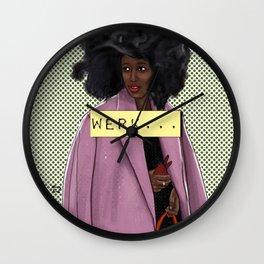 Turn over Wall Clock